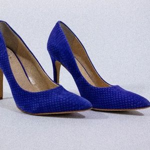 Vince Camuto - Blue Suede Pumps